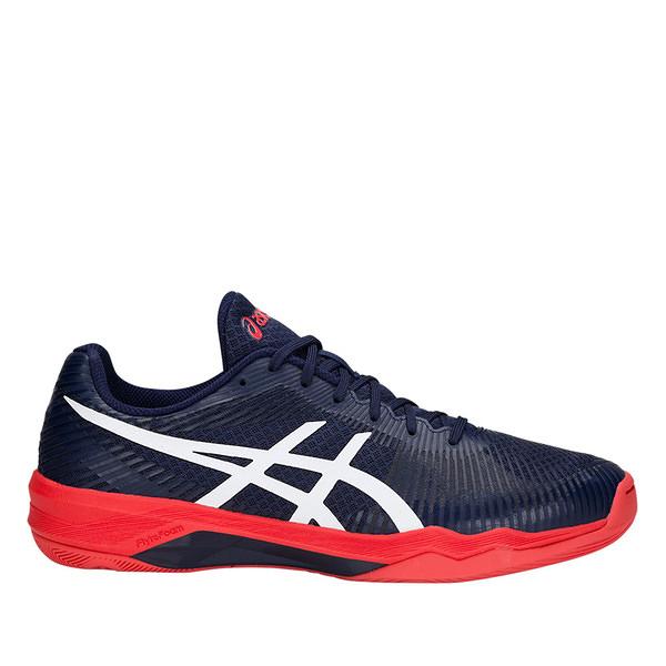 Asics Volley Elite FF [B701N-400] 男鞋 運動 排球 羽球 桌球 穩定 彈跳 深藍