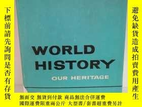 二手書博民逛書店World罕見History Our Heritage by M