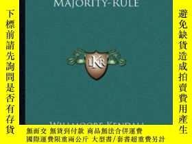 二手書博民逛書店John罕見Locke And The Doctrine Of Majority-ruleY364682 Wi