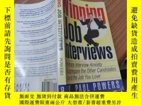 二手書博民逛書店Winning罕見Job Interviews: Reduce