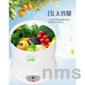 果蔬清洗機家用水果蔬菜解毒機食材表皮凈化活氧除菌消毒降解農殘 NMS