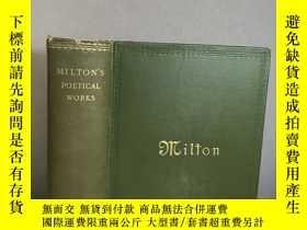 二手書博民逛書店1911罕見The Complete Poetical Work