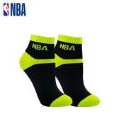 NBA 女款百搭緹花短襪  MIT 運動配件 短襪 平版襪(黑/綠)