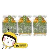 【蜜蜂故事館】台灣嚴選玉山森林花粉200g x3罐
