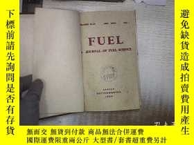 二手書博民逛書店FUEL罕見A JOURNAL OF FUEL SCIENCE 1964 燃料科學雜誌 精裝Y180897