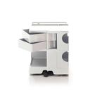 B-Line Boby Storage Trolly System Mod.S H52.5cm 巴比 多層式系統 收納推車 - 中尺寸 (雙抽屜收納) 白色款