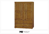 【MK億騰傢俱】BS107-02樟木4*6尺衣櫥