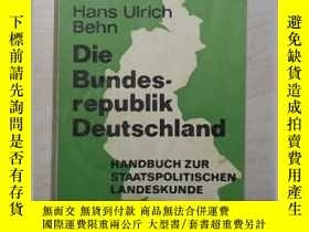 二手書博民逛書店原版罕見Die Bundesrepublik Deutschla
