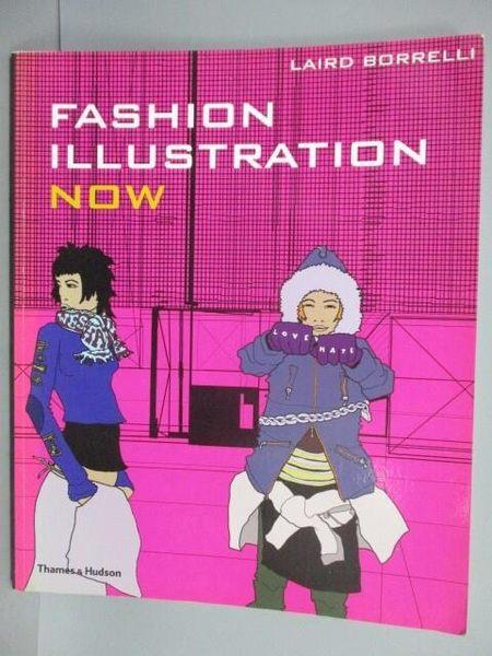 【書寶二手書T1/設計_PNA】Fashion Illustration Now
