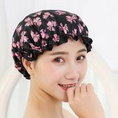 成人淋浴發膜專用旅行游泳便捷一次性幹發帽卡通發卡浴帽洗頭防水  麥吉良品