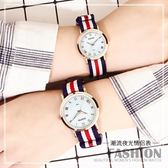 韓版簡約手錶女夜光中學生情侶手對錶時尚潮流2018新款石英男女錶     米娜小鋪