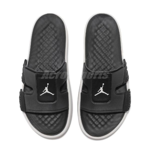 Nike 拖鞋 Jordan Hydro 8 黑 灰 男鞋 運動拖鞋 喬丹 【PUMP306】 CD2803-002