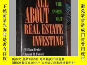 二手書博民逛書店All罕見About Real Estate Investing