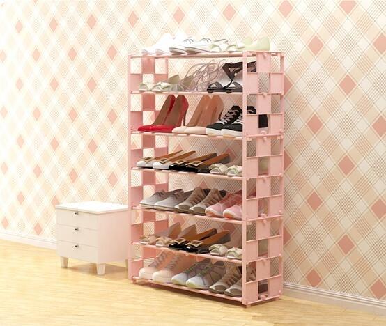 鞋架 鞋架多層簡易放門口家用防塵經濟型宿舍收納鞋柜小鞋架子室內好看【快速出貨八折下殺】