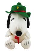 【卡漫城】 Snoopy 童子軍 玩偶 高37cm ㊣版 史奴比 史努比 絨毛娃娃 日版 佈置 擺飾 造型 花生漫畫