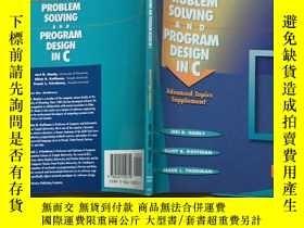 二手書博民逛書店英文原版罕見Problem Solving and Progra