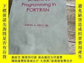 二手書博民逛書店Structured罕見Programming in FORTR