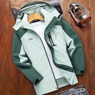 沖鋒衣女春秋薄款戶外防風防水潮牌女士工裝單層外套西藏登山服男 黛尼時尚精品