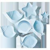 店長推薦日式餐具套裝家用景德鎮地中海陶瓷創意碗盤可愛碗具碗碟碗筷甜品