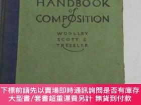 二手書博民逛書店HIGH·SCHOOL罕見HANDBOOK of COMPOSITION 高中作文手冊Y222470 WOOL