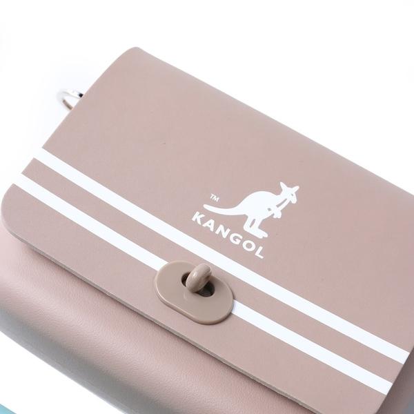 KANGOL 小方包 側背 尼龍 扣式 小包 三色 小LOGO 可調式 (布魯克林) 60253001-