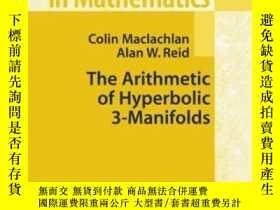 二手書博民逛書店The罕見Arithmetic Of Hyperbolic 3-