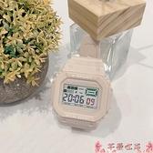 手錶手錶女學生ins風韓版簡約氣質潮流初高中可愛防水鬧鐘運動電子錶  芊墨左岸 上新