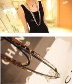項鍊 現貨 韓國熱賣氣質潮風 超百搭多層雙色 項鍊 長項鍊 S2116 批發價 Danica 韓系飾品