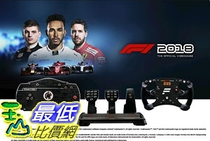 [7美國直購] Fanatec Formula 2018 PC Champions Bundle Model: B-V2.5CARV3 F118 P