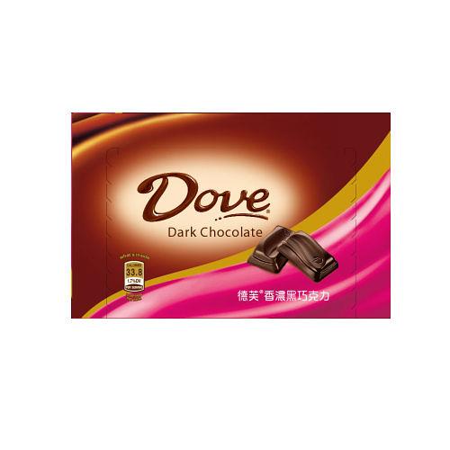 德芙香濃黑巧克力-盒裝【合迷雅好物超級商城】