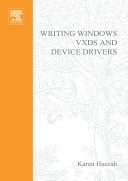 二手書博民逛書店 《Writing Windows VxDs and Device Drivers》 R2Y ISBN:0879304383│Elsevier