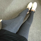 中大尺碼女裝春季新款內搭褲300斤胖mm加大加肥抓毛女式內搭褲【278】