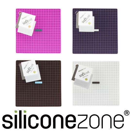 【Siliconezone】施理康耐熱兩用防燙墊&防燙鍋墊-葡萄紫