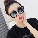 太陽鏡新品偏光太陽女潮複古圓臉防紫外線明星同款墨鏡