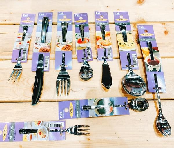 日本貝印KAI 304不鏽鋼餐具 日本製湯匙 叉子刀子 茶匙 餐叉 餐刀 甜點匙 咖啡匙【FA750】