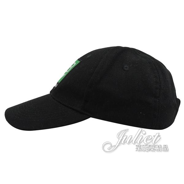 茱麗葉精品【全新現貨】BALENCIAGA 巴黎世家 593188 經典雙B LOGO 棉質棒球帽.黑