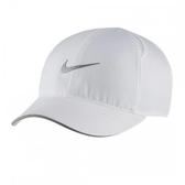 NIKE配件系列-DRY AROBILL FTHLT CAP RUN 白色棒球帽-NO.AR2028100