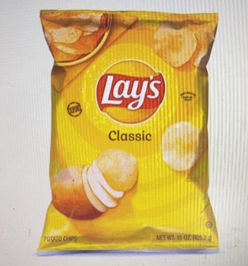 [COSCO代購] W225718 Lay's 樂事美國進口原味洋芋片 425.2公克 兩入