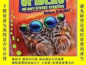 二手書博民逛書店Ripley罕見Twists: Spiders & Scary Creepy CrawliesY410016