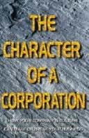 二手書《The Character of a Corporation: How Your Company s Culture Can Make Or Break Your Business》 R2Y 0002559331