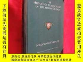 二手書博民逛書店The罕見History of Florence and of the Affairs of Italy ( 16