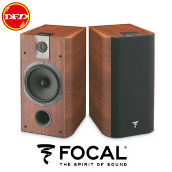 法國 Focal Chorus 706 書架式喇叭(環繞揚聲器) (一對) (胡桃木色) 送北區精緻安裝乙式