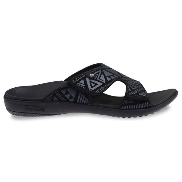 《Spenco》TRIBAL SLIDE 男 涼拖鞋 黑色 SF39-670