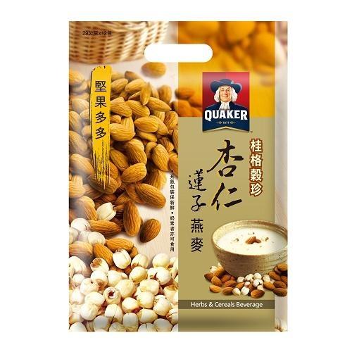 桂格穀珍堅果多多-杏仁蓮子燕麥28g x12入/       袋【愛買】
