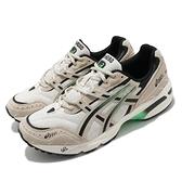 Asics Tiger 休閒鞋 Gel-1090 男 米 綠 復古 運動 老爹鞋 AT【ACS】 1021A385200