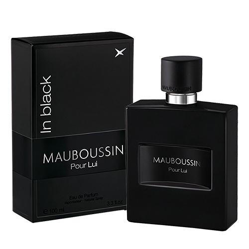 【MAUBOUSSIN 夢寶星】Pour Lui In Black 夢寶星 黑色絕對 男性淡香精 100ml