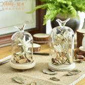 zakka鄉村創意田園家居裝飾品玻璃罩樣板房小擺件日禮物 全館免運