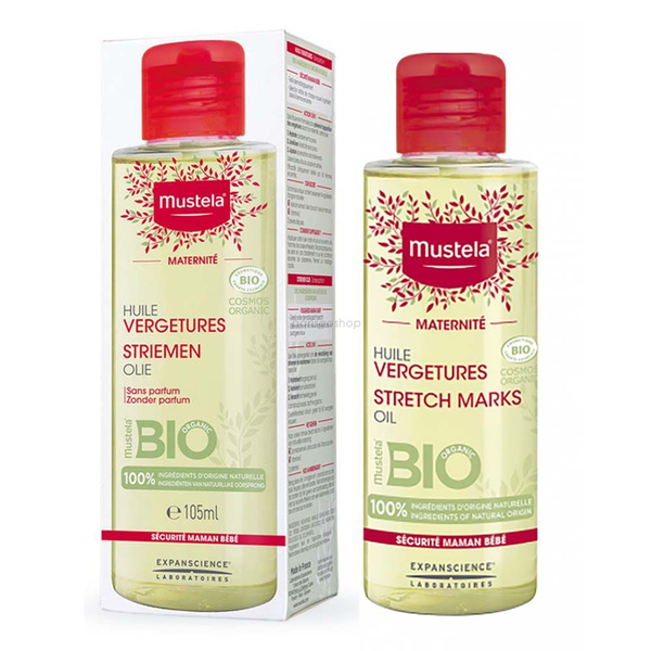 慕之恬廊 孕膚油 105ml 新包裝 2022/07 無香 產前 產後 哺乳期 皆可使用 Mustela【巴黎好購】MUS1010511