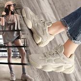 運動鞋跑步鞋百搭學生老爹鞋休閒鞋 巴黎春天