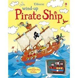 【麥克書店】 WIND-UP PIRATE SHIP BOOK /內附1台小船